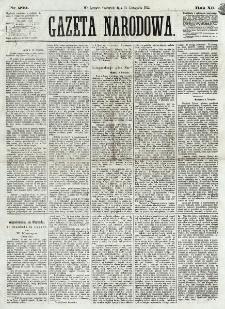 Gazeta Narodowa. R. 12, nr 269 (13 listopada 1873)