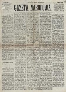 Gazeta Narodowa. R. 12, nr 274 (19 listopada 1873)
