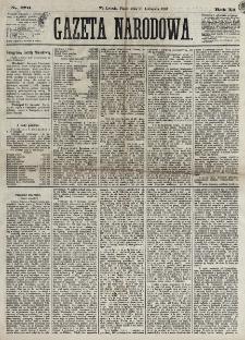 Gazeta Narodowa. R. 12, nr 276 (21 listopada 1873)