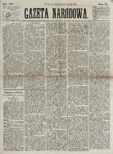 Gazeta Narodowa. R. 12, nr 277 (22 listopada 1873)