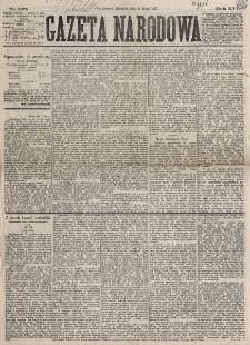 Gazeta Narodowa. R. 16, nr 148 (1 lipca 1877)