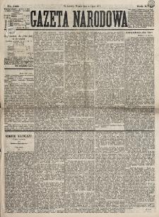 Gazeta Narodowa. R. 16, nr 149 (3 lipca 1877)
