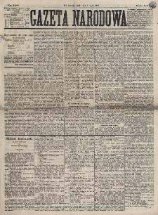 Gazeta Narodowa. R. 16, nr 150 (4 lipca 1877)