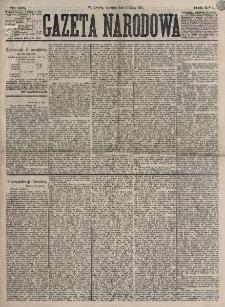 Gazeta Narodowa. R. 16, nr 151 (5 lipca 1877)