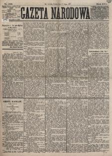 Gazeta Narodowa. R. 16, nr 153 (7 lipca 1877)