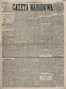 Gazeta Narodowa. R. 16, nr 154 (8 lipca 1877)