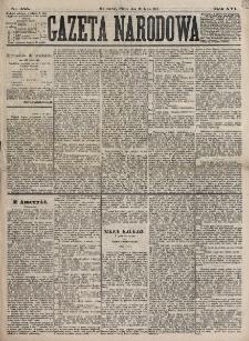 Gazeta Narodowa. R. 16, nr 155 (10 lipca 1877)