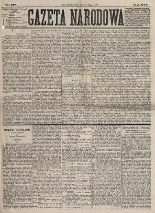 Gazeta Narodowa. R. 16, nr 156 (11 lipca 1877)