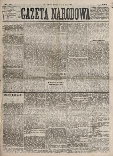 Gazeta Narodowa. R. 16, nr 157 (12 lipca 1877)