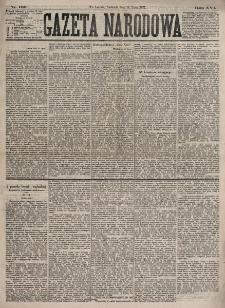 Gazeta Narodowa. R. 16, nr 160 (15 lipca 1877)