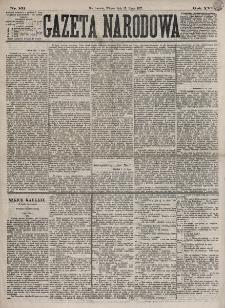 Gazeta Narodowa. R. 16, nr 161 (17 lipca 1877)