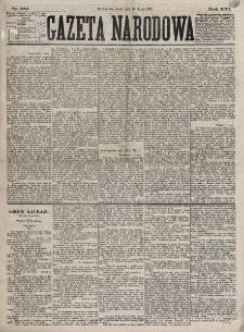 Gazeta Narodowa. R. 16, nr 162 (18 lipca 1877)