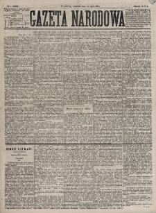 Gazeta Narodowa. R. 16, nr 163 (19 lipca 1877)