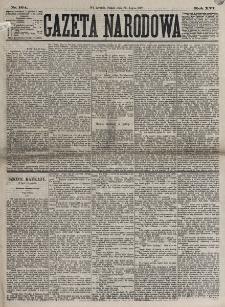Gazeta Narodowa. R. 16, nr 164 (20 lipca 1877)