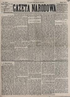Gazeta Narodowa. R. 16, nr 165 (21 lipca 1877)