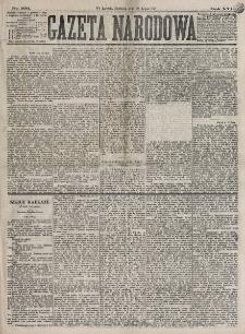 Gazeta Narodowa. R. 16, nr 166 (22 lipca 1877)