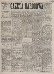 Gazeta Narodowa. R. 16, nr 168 (25 lipca 1877)