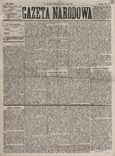 Gazeta Narodowa. R. 16, nr 169 (26 lipca 1877)