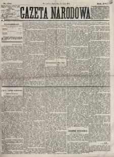 Gazeta Narodowa. R. 16, nr 170 (27 lipca 1877)