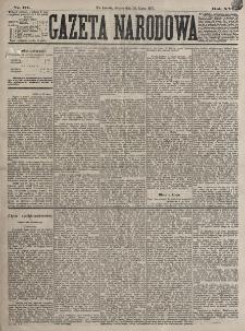 Gazeta Narodowa. R. 16, nr 171 (28 lipca 1877)