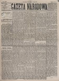 Gazeta Narodowa. R. 16 (31 lipca 1877)