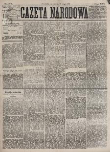 Gazeta Narodowa. R. 16, nr 175 (2 sierpnia 1877)