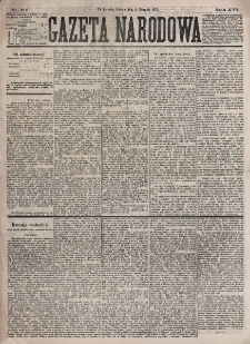 Gazeta Narodowa. R. 16, nr 177 (4 sierpnia 1877)
