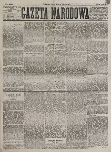 Gazeta Narodowa. R. 16, nr 188 (18 sierpnia 1877)