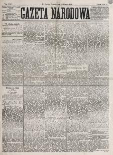 Gazeta Narodowa. R. 16, nr 192 (23 sierpnia 1877)