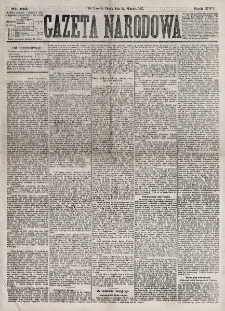 Gazeta Narodowa. R. 16, nr 193 (24 sierpnia 1877)