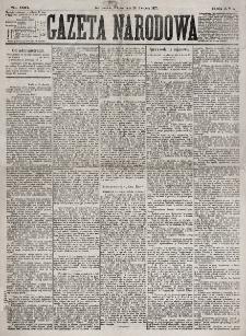 Gazeta Narodowa. R. 16, nr 196 (28 sierpnia 1877)