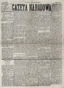 Gazeta Narodowa. R. 16, nr 197 (29 sierpnia 1877)