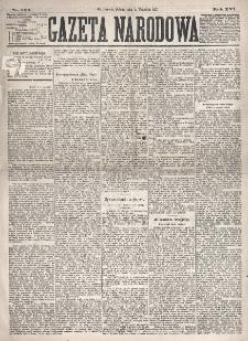 Gazeta Narodowa. R. 16, nr 200 (1 września 1877)