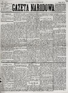 Gazeta Narodowa. R. 16, nr 202 (4 września 1877)
