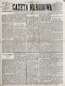 Gazeta Narodowa. R. 16, nr 208 (12 września 1877)