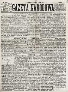 Gazeta Narodowa. R. 16, nr 209 (13 września 1877)