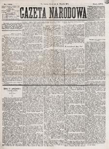 Gazeta Narodowa. R. 16, nr 210 (14 września 1877)