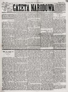 Gazeta Narodowa. R. 16, nr 211 (15 września 1877)