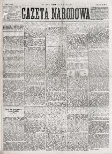 Gazeta Narodowa. R. 16, nr 212 (16 września 1877)