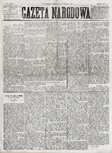 Gazeta Narodowa. R. 16, nr 215 (20 września 1877)