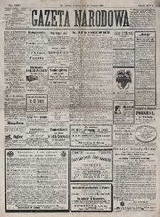 Gazeta Narodowa. R. 16 (1877), nr 218 (23 września)