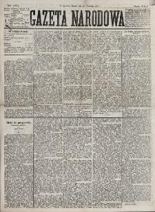 Gazeta Narodowa. R. 16 (1877), nr 222 (28 września)