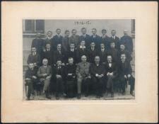 [Portret nauczycieli i maturzystów Szkoły Lubelskiej z 1916-17 roku]