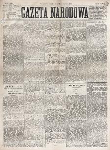 Gazeta Narodowa. R. 16 (1877), nr 233 (11 października)