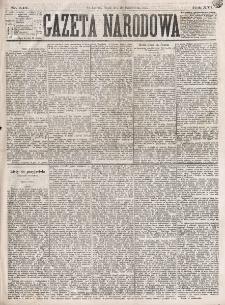 Gazeta Narodowa. R. 16 (1877), nr 240 (19 października)