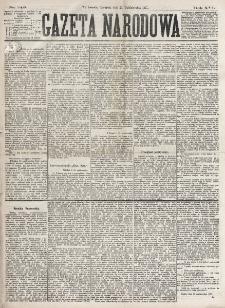 Gazeta Narodowa. R. 16 (1877), nr 245 (25 października)