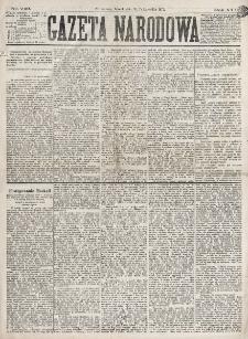 Gazeta Narodowa. R. 16 (1877), nr 249 (30 października)