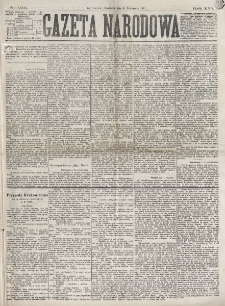 Gazeta Narodowa. R. 16 (1877), nr 253