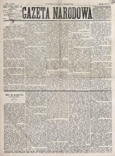 Gazeta Narodowa. R. 16 (1877), nr 255 (7 listopada)