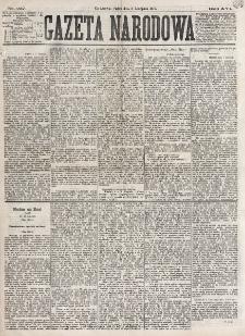Gazeta Narodowa. R. 16 (1877), nr 257 (9 listopada)